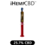ORGANIC GOLD 25.7% CBD HEMP OIL in red tube