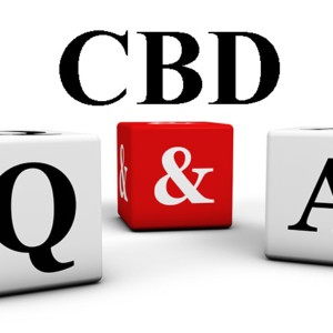 Image of dice with CBD Q & A for A Hemp World